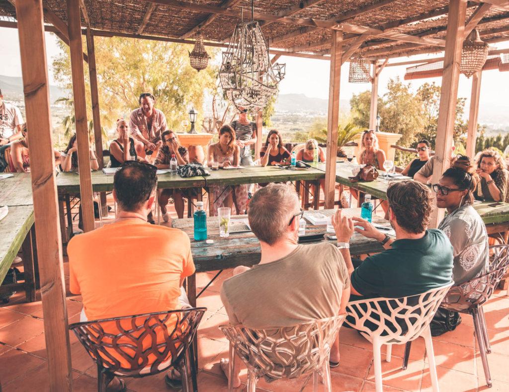 Pikes Ibiza Literary Festival 2019 with Linda Quinn